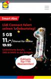 Lidl Connect – 5 GB + Telefonie und SMS unlimitiert für die ersten 1'111 Kunden für immer