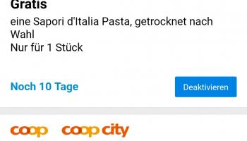 Gratis 1stk. Sapori d'Italia Pasta
