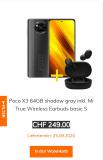 Poco X3 inkl. Earbuds im MI-Store