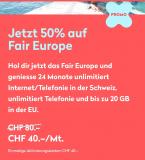 Wingo – 50% Rabatt auf das Fair Europe Abo für 24 Monate