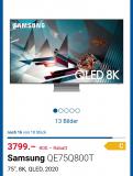 Samsung 75 Zoll 8k für 2999.–