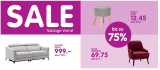 (Verlängerung) SALE bei MICASA, bis zu 75 % Rabatt auf diverse Möbel