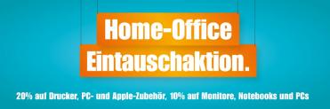 Home-Office Eintauschaktion bei melectronics mit 10 % auf Monitore, Notebooks und PC sowie 20 % auf Drucker, PC- und Apple-Zubehör
