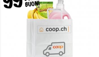 Gratis Lieferung bei Coop.ch (ab CHF 99.90 über Supercard)