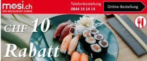 mosi.ch: CHF 10.- Rabatt bei MBW 30.-