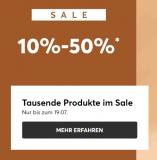 SALE bei eschuhe.ch – bis zu 50% Rabatt
