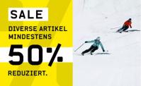 SALE bei Ochsner Sport – mind. 50% Rabatt auf diverse Artikel (kumulierbar mit NL-Gutschein)