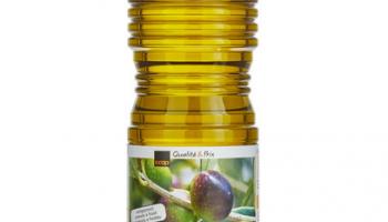 Extra natives spanisches Olivenöl bei Coop (1+1 Aktion, 2 Liter für CHF 7.40)