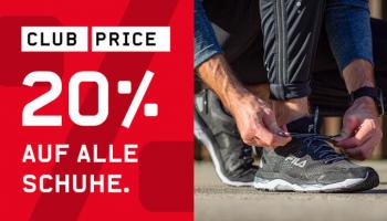 Ochsner Sport: 20% Rabatt auf alle Schuhe (exkl. On Running) – kombinierbar mit NL-Gutschein
