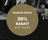 20% Rabatt auf alles auch Sale Artikel bei WE Fashion (29.11.)