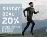 20% auf Bike-, Running- und Fitness-Bekleidung bei Ochsner Sport (nur heute)
