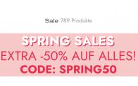 TALLY WEiJL Spring Sales: Extra 50% auf alles im Sale