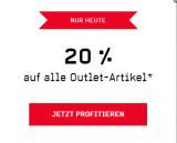 Heute 20% auf alle Outlet-Artikel bei Ochsner Sport