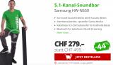 SAMSUNG HW-N650, 5.1ch Soundbar bei Day Deal