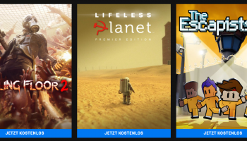 3 gratis Games im Epic Store (u.a. Killing Floor 2, Escapists 2)
