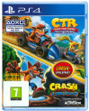CTR + Crash Banidcoot N.Sane Trilogy Bundle als Disc für die Playstation