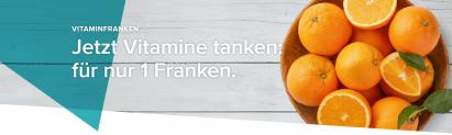 Bis zum 11.1. –  Vitamine für 1 Franken bei Migros