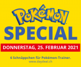 Pokémon-Special bei DayDeal am 25. Februar