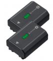 Sony Akku NP-FZ 100 2er Pack (für Sony Alpha 7 III, Alpha 7R III, Alpha 9 und Alpha 1)