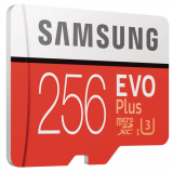 SAMSUNG Evo Plus (2017) microSDXC Card, Class 10, UHS-I, 256GB (MB-MC256GA/EU) bei Fust