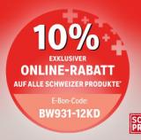 coop bau + hobby: 10% auf alle Schweizer Produkte im Onlineshop