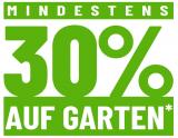 LIPO: Mindestens 30% auf das Gartensortiment + gratis Postversand (MBW: 20.-) + gratis Lieferung Garten-Lounges
