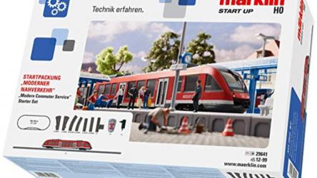 Märklin Start up (29641) Modelleisenbahn-Set bei Amazon