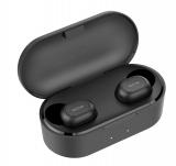 QCY QS2: Kabellose Kopfhörer mit Ladebox (schwarz o. weiss, 4h Akku, 32h mit Box, IPX4 Spritzwasserschutz, DSP-Technologie)