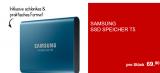 Samsung external SSD T5 500GB bei ALDI