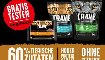 Crave Petfood gratis testen