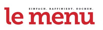 "Kochmagazin ""le menu"" 2 Monate lang gratis"