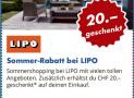 LIPO: 20.- ab 99.- (nur offline)