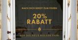20% Rabatt auf die neue Kollektion bei WE Fashion (bis 24.11.)