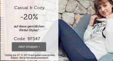 20% auf Winter-Styles bei Bon Prix (bis zum 27.11.)
