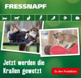 20% Rabatt auf Kratzgegenstände für Katzen bei Fressnapf (nur heute)