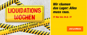 Kleiner Sammeldeal – Liquidationswochen bei Migros Do It + Garden