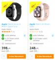Apple Watch SE (40mm, Gold) & Watch Series 6 (GPS 44mm, Aluminium, Silikon) bei Fust zu Bestpreisen