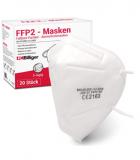 60 (3×20) FFP2 Masken bei Amazon
