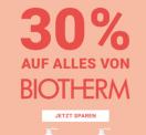 30% auf alles von Biotherm bei Import Parfümerie (15.03.)