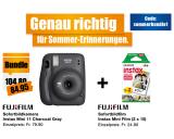 Fujifilm Instax Mini 11 charcoal gray + 2×10 Sofortfilm im Bundle