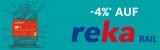 Manor: 4% Rabatt auf Reka-Rail-Schecks (bis 1500 Franken Bestellwert) mit der gratis Manor-Mastercard