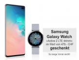 Samsung Galaxy S10+ 128 GB & Galaxy Watch Active 2 LTE bei Ackermann