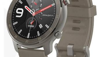 Amazfit GTR 47mm Titanium Fitness-Watch bei Steg