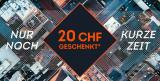 CHF 20.- ab CHF 50.- Rabatt bei SportScheck (bis 06.09.)