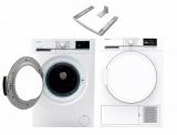 Sharp Waschmaschine und Tumbler bei nettoshop