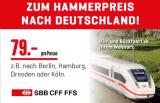 Für CHF 79.- nach Deutschland (Aktion von Interdiscount und Coop)