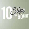 Hunkemöller: 10 Slips für CHF 60.-