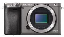 SONY Alpha 6000 Body Systemkamera (Fotoauflösung: 24.3 MP) Grau bei MediaMarkt
