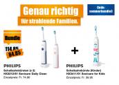 3x Philips Schallzahnbürsten bei melectronics