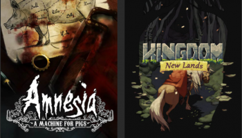Kingdom New Lands und Amnesia: A Machine for Pigs im Epic Games Store